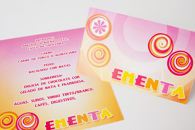Tema Lollipop - Ementa