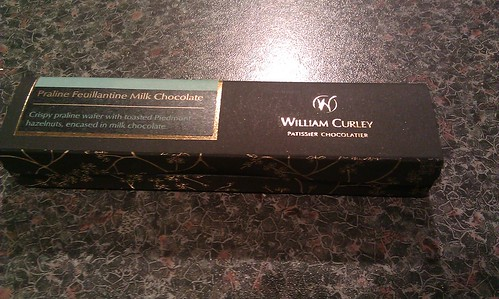 William Curley Praline Feullantine Bar