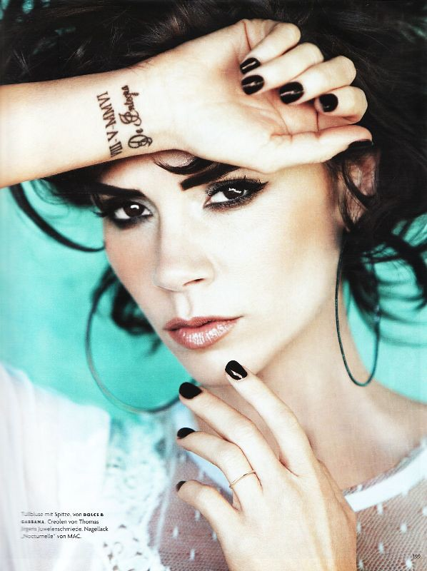 Victoria Beckham by Alexi Lubomirsk (Queen Of Posh - Vogue Germany May 2010)