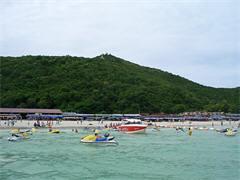 パタヤ・マリンスポーツアイランド・ラン島で遊ぶ1日(ビーチリゾートのオプショナルツアー)
