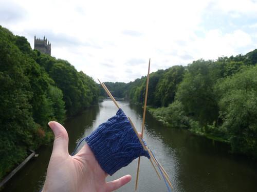 Frakking socks in Durham