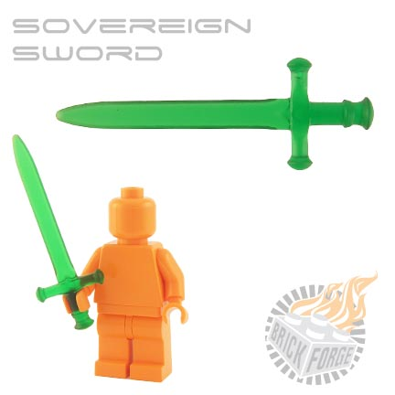 Sovereign Sword (of Poison) - Trans Green