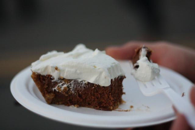 chocolate silk pie from the pie hole