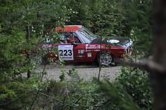 223 Lauri Heikkil and Jorma Okker in Lancia Fulvia 1,6 HF (smerikal) Tags: summer car race rally racing historic lahti em hassi lanciafulvia1 6hf