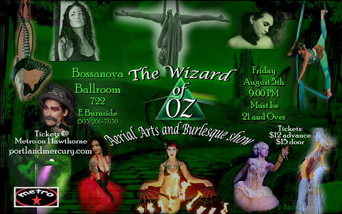 Wizard of Oz Burlesque @ Bossanova Ballroom