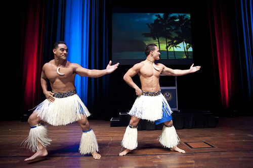 Hawaiian Dance Performance - The Polynesian Cultural Centre.