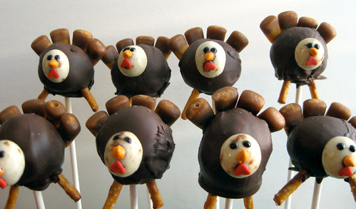 Turkey Cake Pops