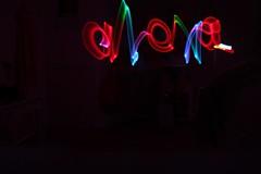 a l e x a ; (lex) Tags: canon rebel lights long exposure name alexa t2i