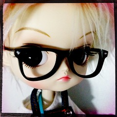 Happy Birthday to my Mum' (fafinette78) Tags: france cute rabbit clock french toy toys miniature doll ray geek alice dal mini planning kawaii bjd pullip blythe another ban wonderland japon jun wayfarer rayban iphone dollie jaoan