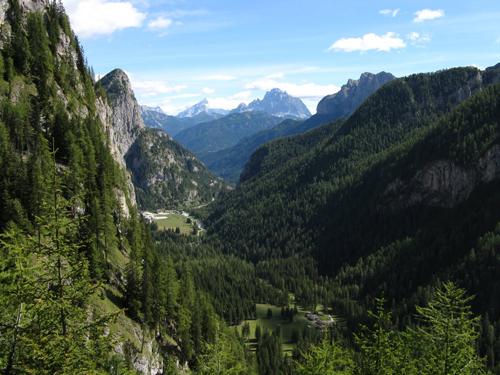Panorama dal sentiero