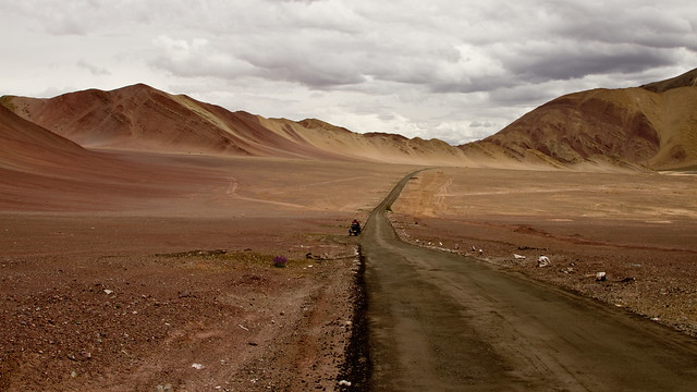 The road to Hanle!