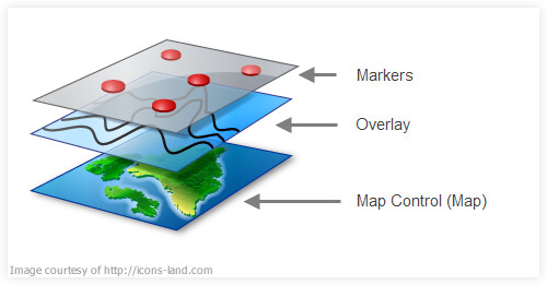 Using GMap NET – Great Maps for Windows Forms & Presentation