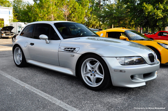 S54B32 M Coupe | Titanium Silver | Black | Tinted Windows