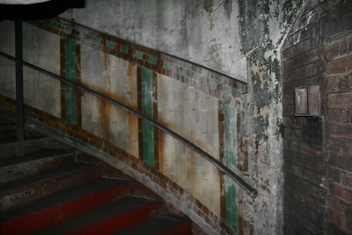 Lower level of the staircase