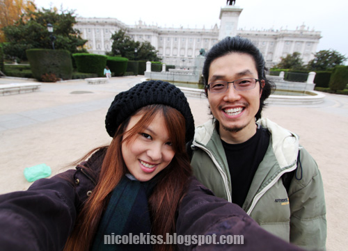 me and korean friend