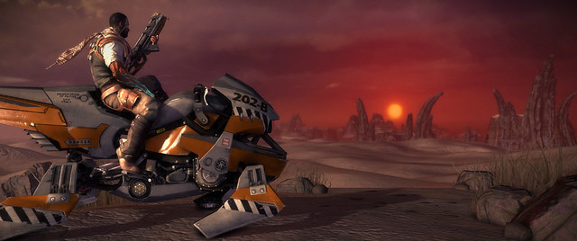 Starhawk: First Sunset On Echo