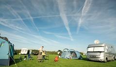 Campsite and Sky