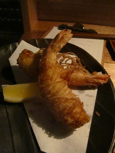 King prawn fry
