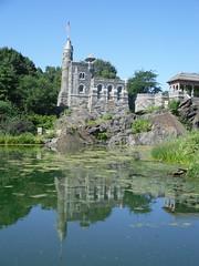 Belvedere Castle relection (Stacey Space) Tags: newyorkcity centralpark belvederecastle