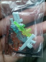 All my Prototypes from BF11 (Stryker2727) Tags: dark glow acs swirls ba blooper thumper prototypes m79 gitd aa12 brickarms m16a1 overmolded coreburner