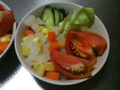 朝食サラダ(2011/8/7)