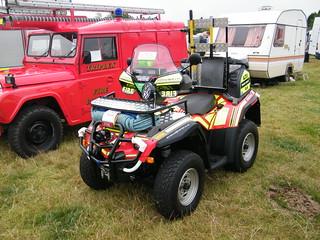 2003 Bombardier ATV Quad Bike - Fire and Rescue