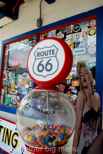 Las Vegas, Nevada - Route 66 signs - Candy machine