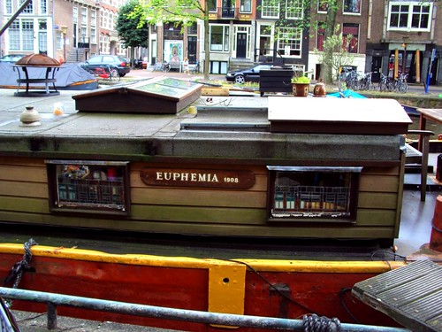 EUPHEMIA 1908 | BOAT HOUSE in amsterdam