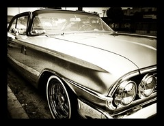 city car blackwhite losangeles noir chevy impala hangingout musclecar exif:width=2048 hidden:city=losangeles exif:height=1577