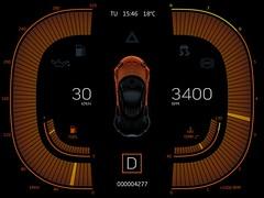 NightMode (Anatoly Zenkov) Tags: auto car digital dashboard speedometer tachometer gagepanel