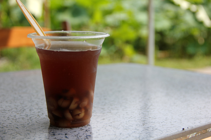 Lotus Beverage, Yangshuo, China