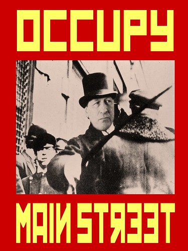 OCCUPY MAINSTREET (JPM) by Colonel Flick