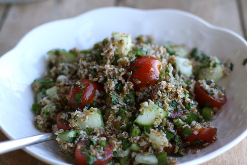 Chicken with Tabbouleh
