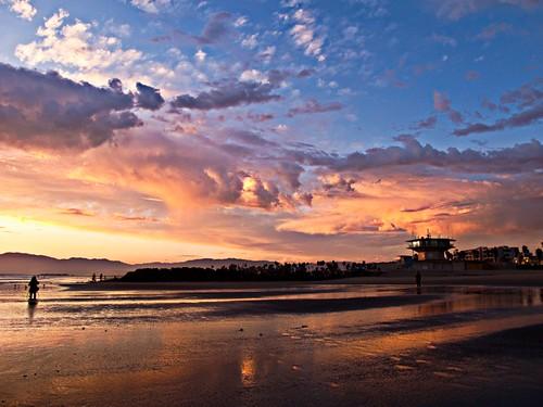 Venice Beach Sunset by Steve Christensen