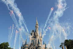 Walt Disney World 40th anniversary celebration at Magic Kingdom