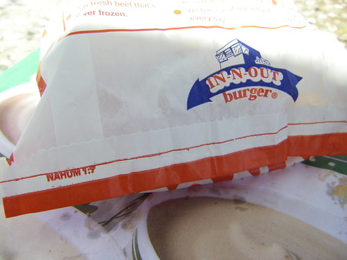 IN-N-OUT Burger, Placerville, CA, 10/1/11