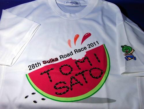28th suika road race 2011〜t-shirts