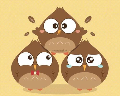 Bird Pyramid by roseycheekes