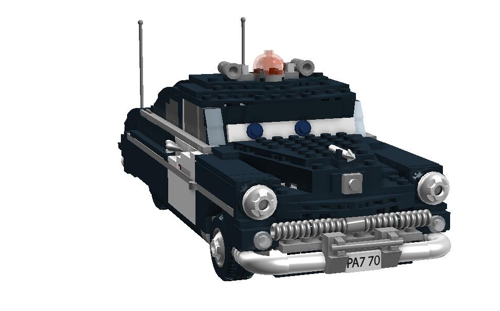 Sheriff, 1949 Mercury Police Cruiser - Disney / Pixar 'Cars' Movie Character