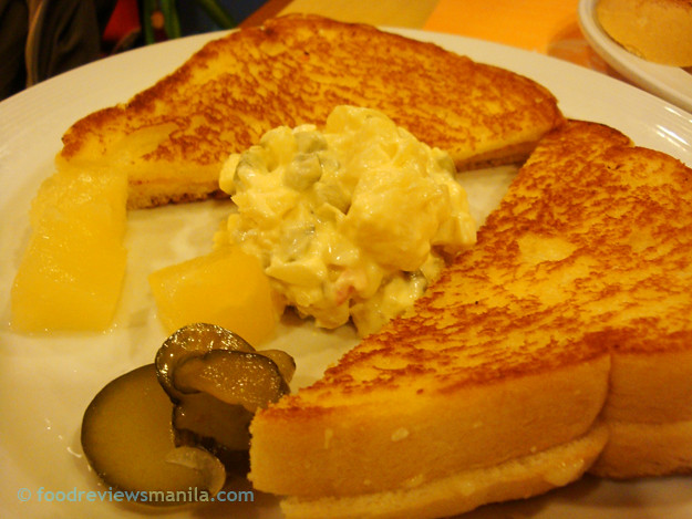 Pancake House Grilled Cheese Sandwich