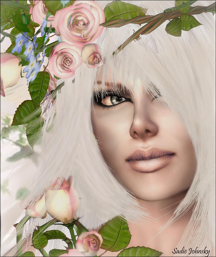 Blush skin: Violet Extreme Look
