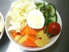 朝食サラダ(2011/7/4)
