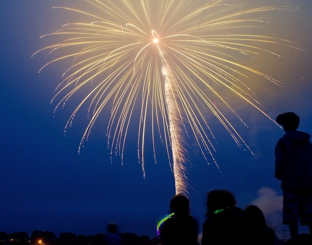Jamestown fireworks 2011