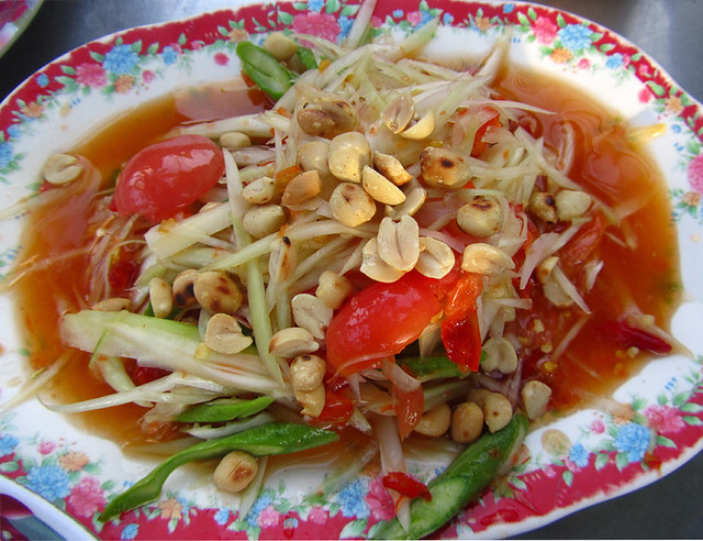 Som Tam (Green Papaya Salad)