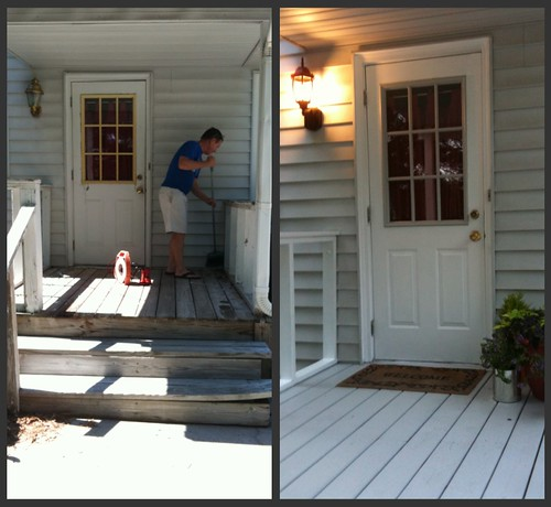 main back door