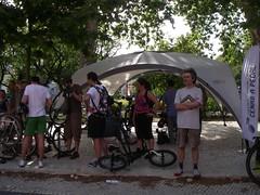 Tenda da Cenas a Pedal