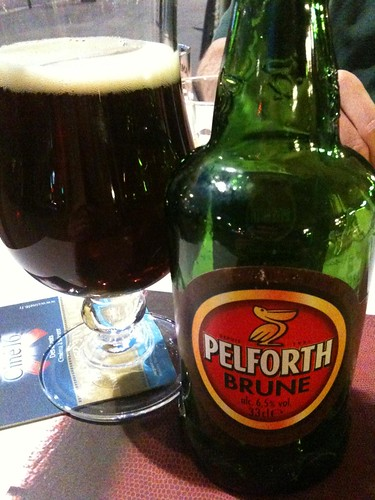 Pelforth Brune at The Central Pub in Bordeaux