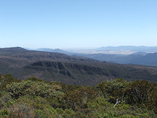 Picture from the Grampians Mt. Williams