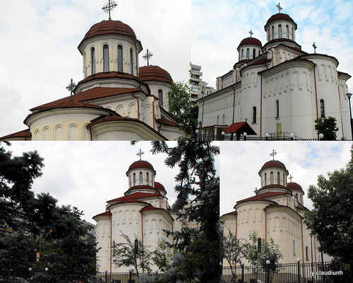"""Sf.Ioan Botezatorul;Sf.Constantin si Elena-Parc Plumbuita"" by claudiunh"