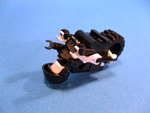 Purist Lego Lightcycle - White Underside